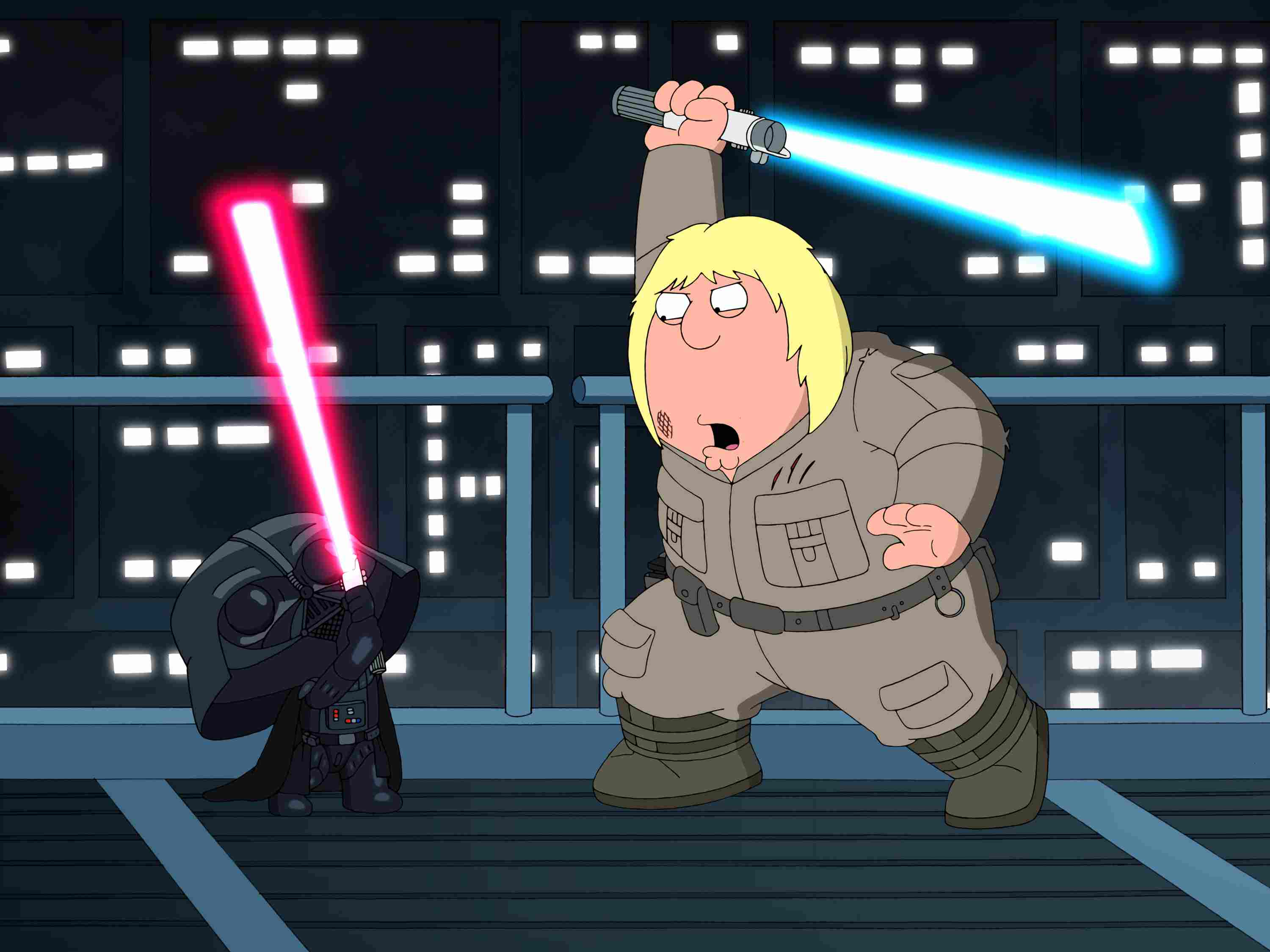 Family Guy Star Wars Pictures - Picture of Stewie and Chris