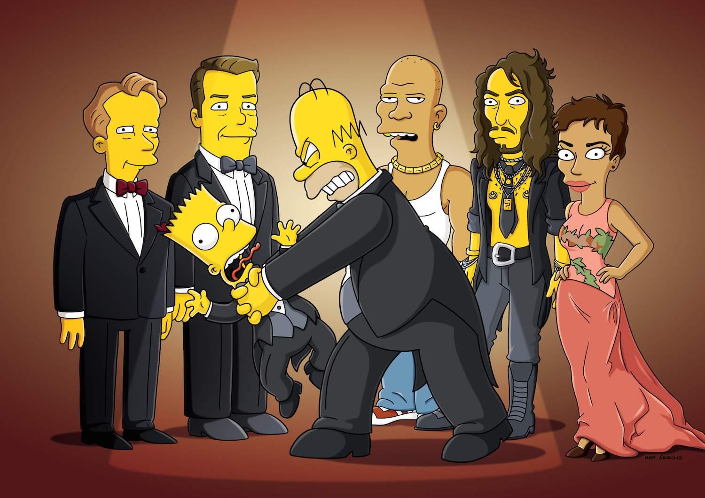 Homer Strangles Bart
