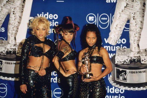 TLC receiving an award