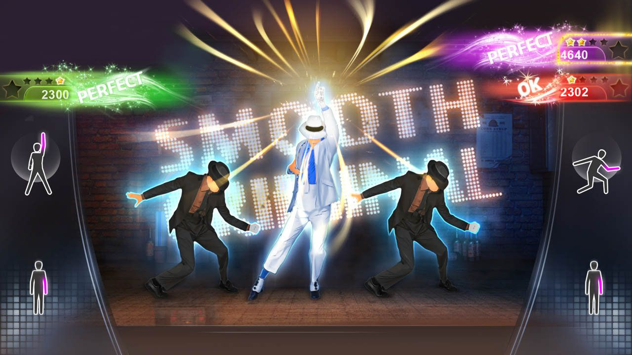 Gameplay of the PlayStation Move game Michael Jackson: The Experience