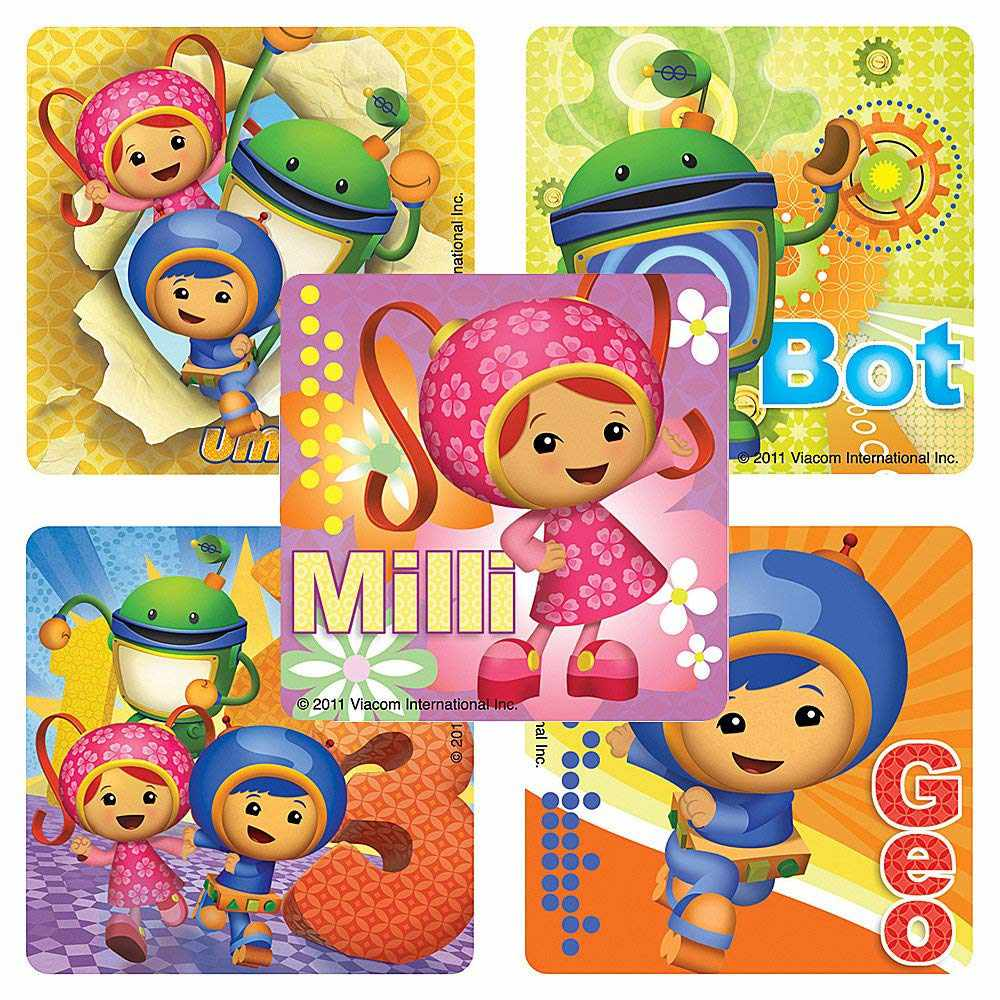 Team Umizoomi stickers.