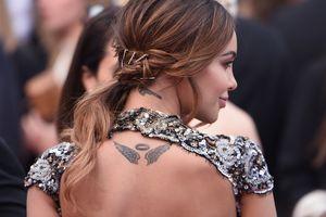 Model Nabilla Benattia tattoos