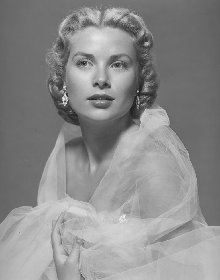 A picture of actress Grace Kelly.