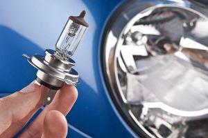Replacing a headlight bulb is a cheap, 5-minute job.
