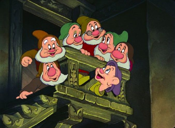 Film still from Snow White and the Seven Dwarfs
