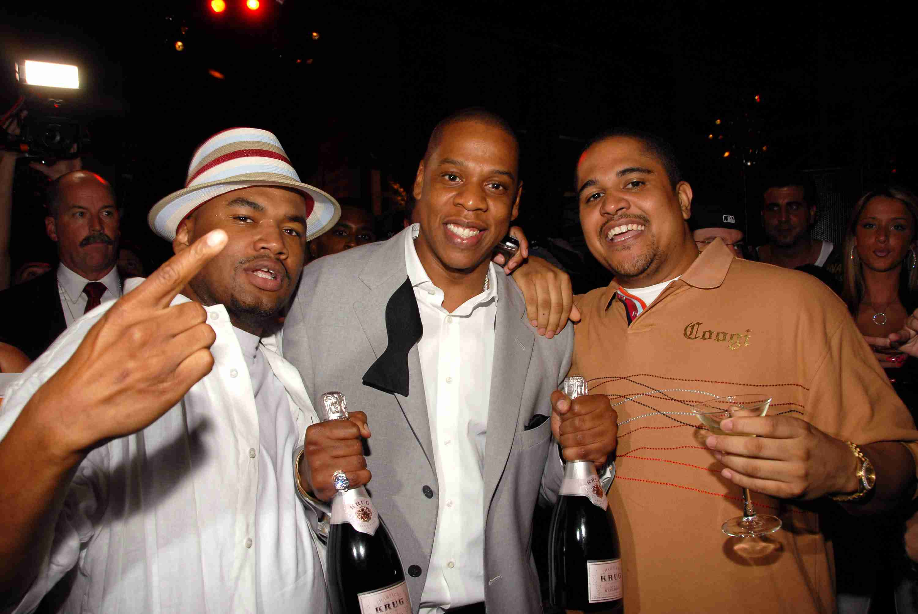 Shawn 'Jay-Z' Carter Celebrates the 10th Anniversary of 'Reasonable Doubt' - Inside