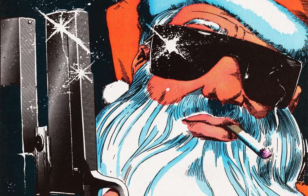 peter parker spectacular spider man santa claus gun
