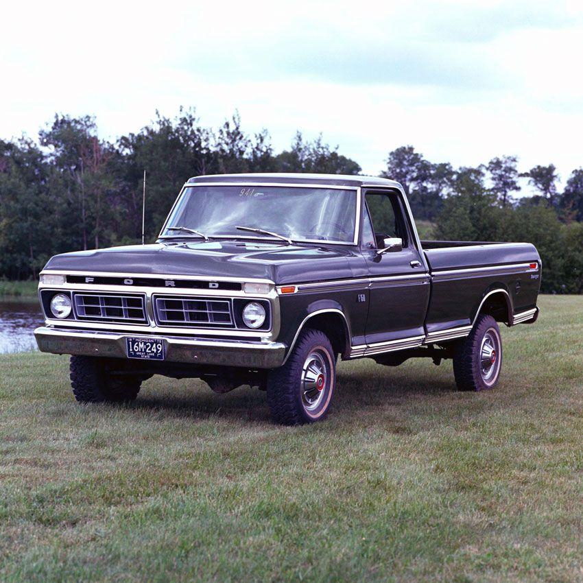 1976 Ford F-150 Ranger Pickup Truck
