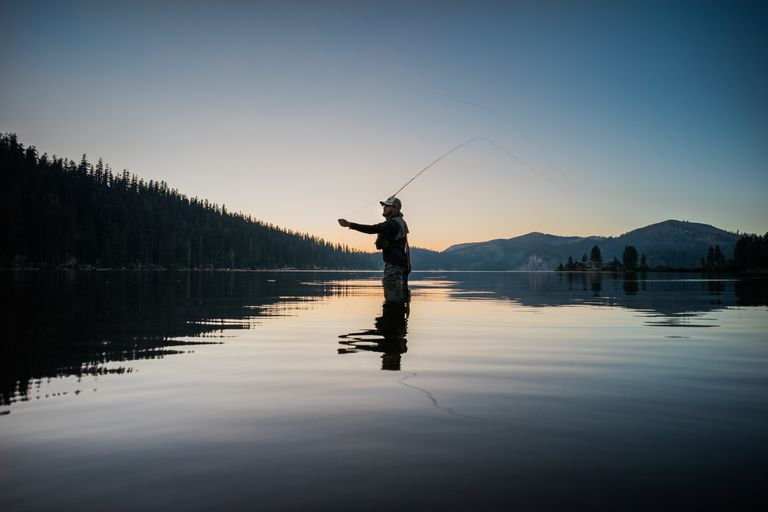 Monochrome, Fly Fishing in South Lake Tahoe
