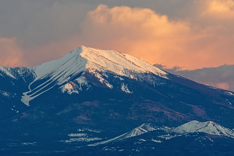 Last Light on San Francisco Peaks