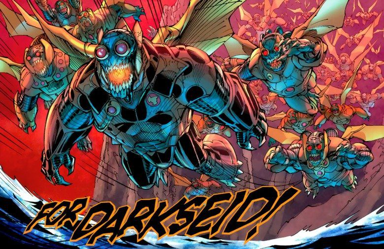 Comic Panel of Parademons from