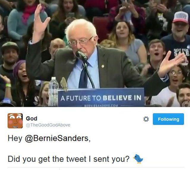 Bernie Got Tweet