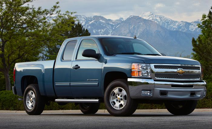 2012 Silverado LT Extended Cab Pickup Truck