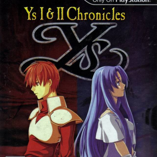 Ys I & II Chronicles game cover for PSP