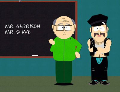 South Park - Mr. Garrison and Mr. Slave
