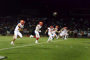 Football team runs