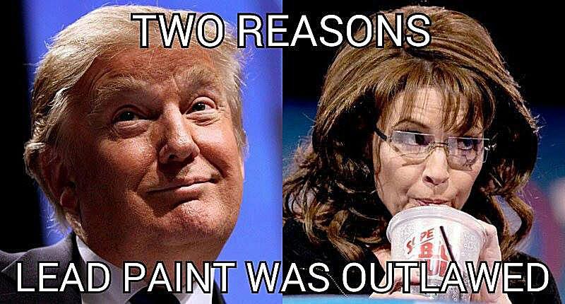 Funny Trump and Palin Meme