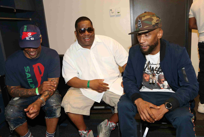 Members of Brand Nubian at YO! MTV Raps 30th Anniversary Live Event