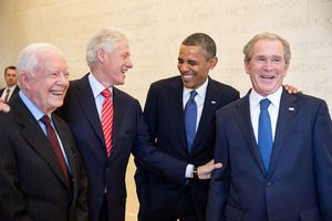 Presidents Laughing