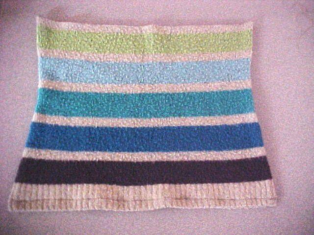 Making a sweater bag
