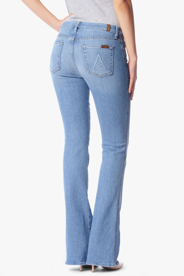 7 For All Mankind A Pocket Flared Jean