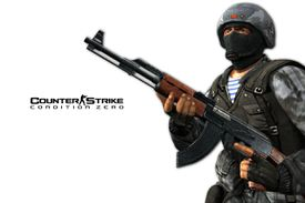 Counter-Strike: Condition Zero game character and logo