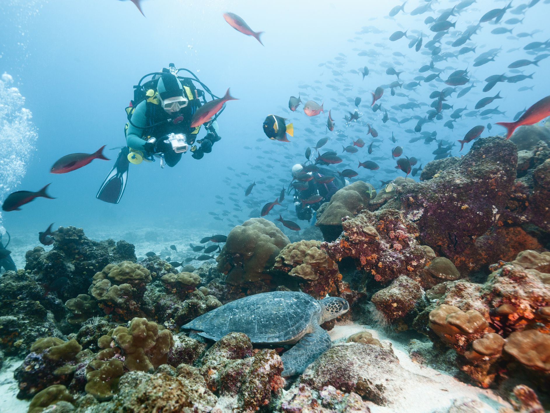 How Does Boyle's Law Apply to Scuba Diving?