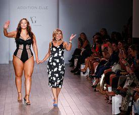 Addition Elle Presents Holiday 2016 RTW + Ashley Graham Lingerie - Runway - September 2016 - Style360 Fashion Week