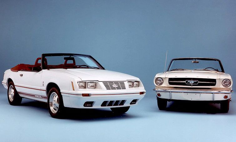The 1984 Ford Mustang Anniversary Edition GT350