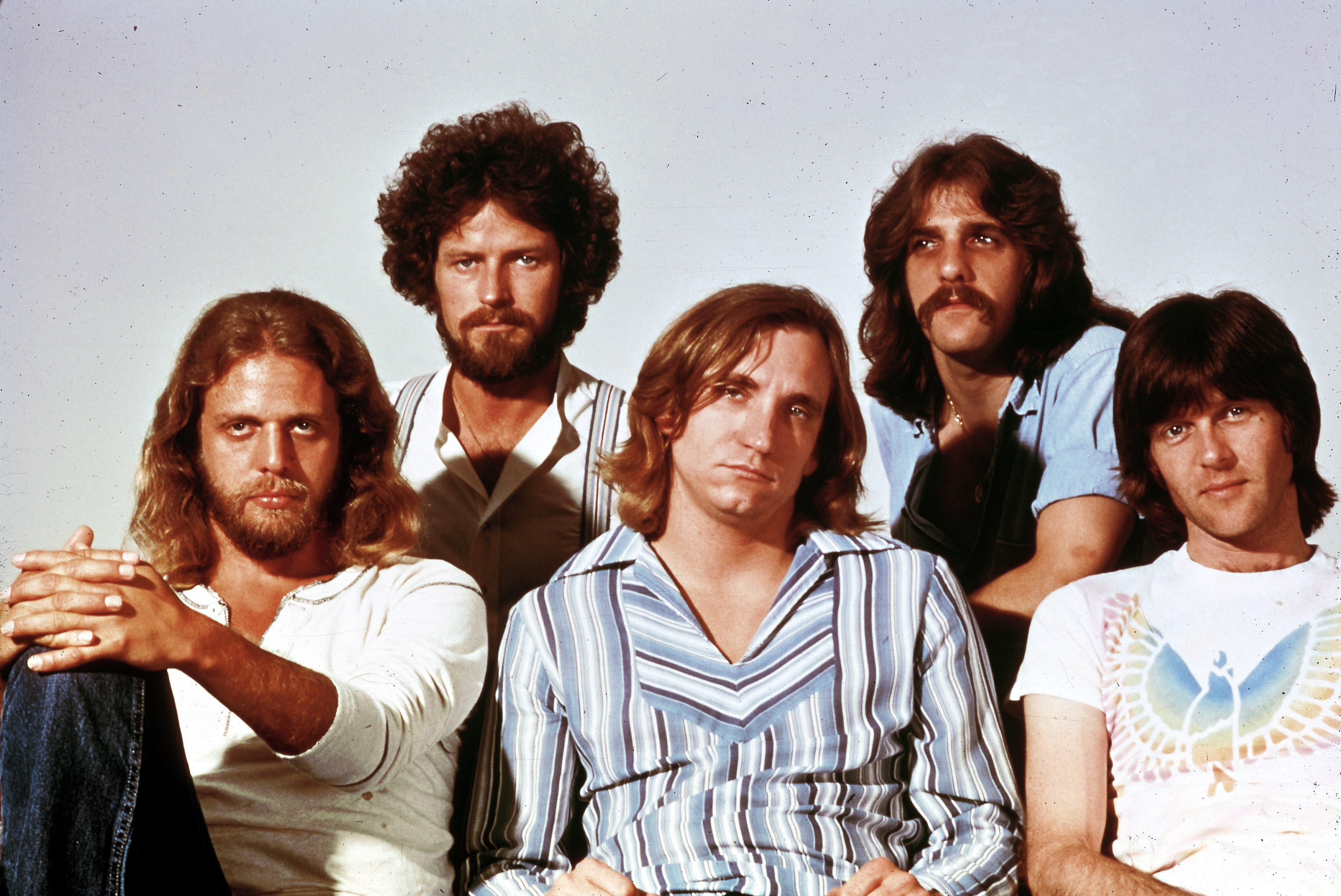 Photo of Glenn FREY and Joe WALSH and Don HENLEY and Don FELDER and EAGLES and Randy MEISNER