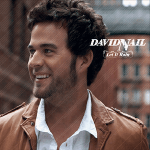 David Nail let it rain cover