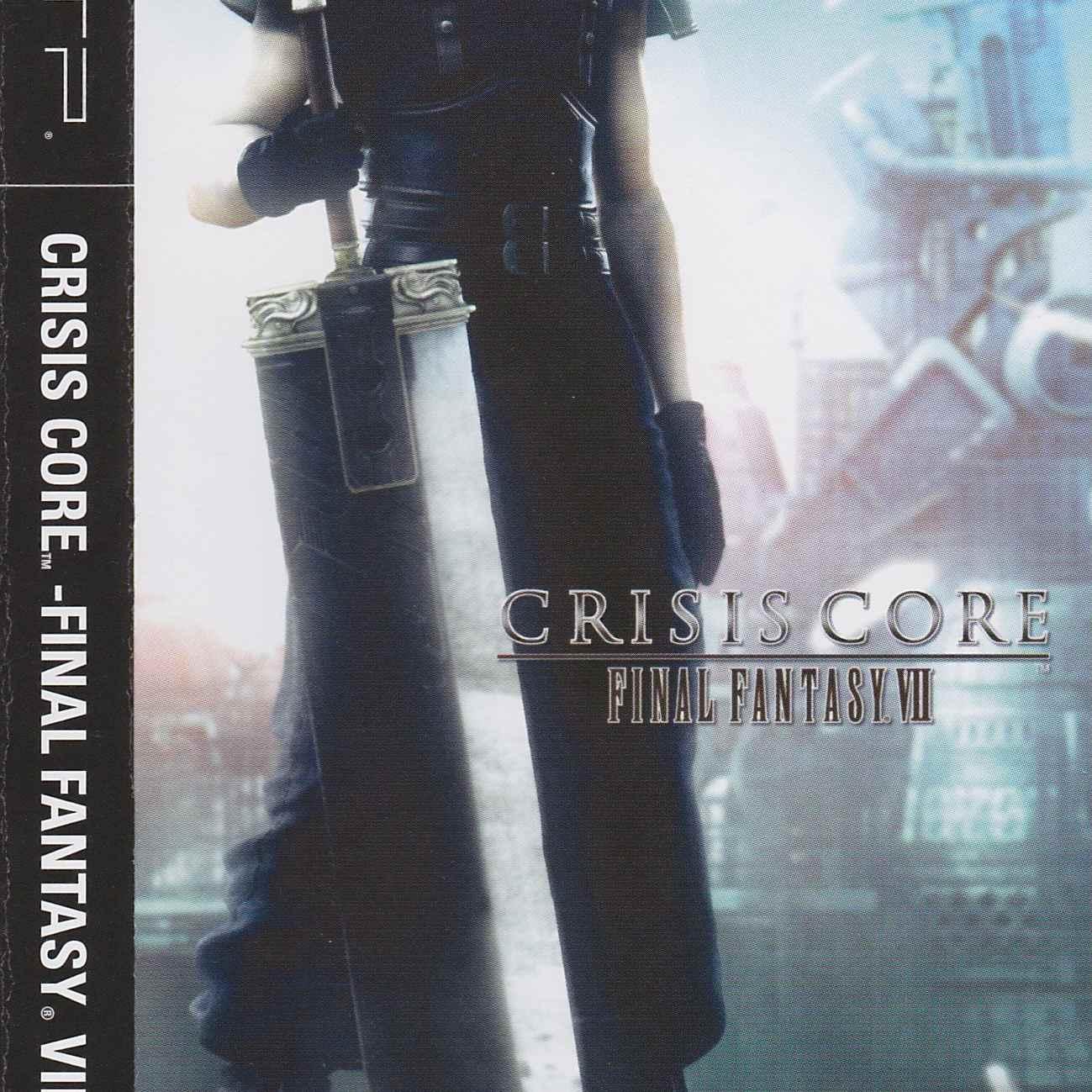 Crisis Core: Final Fantasy VII game jacket for PSP