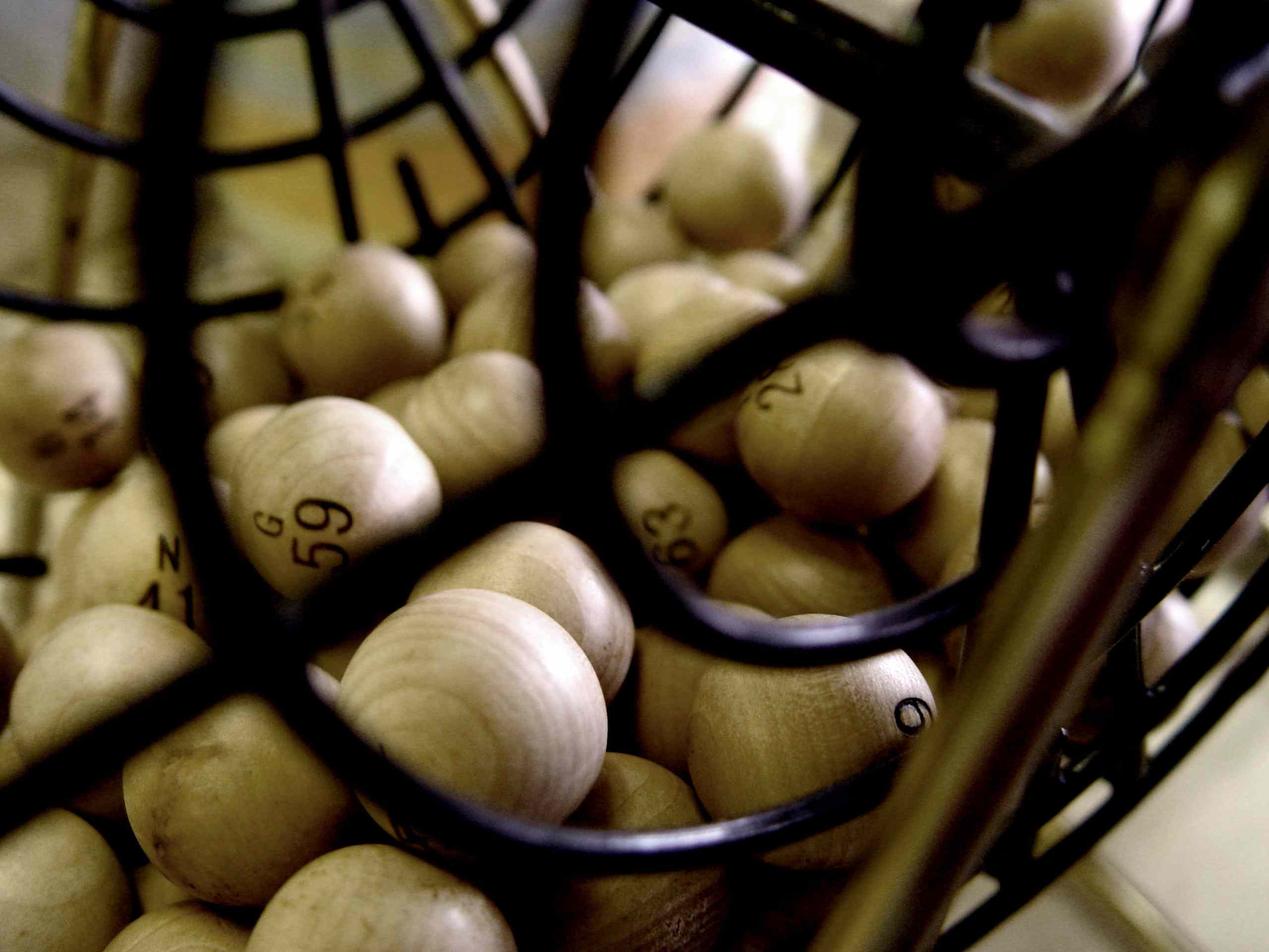 Image of a Bingo Cage, Like Those Used in PCH Prize Drawings