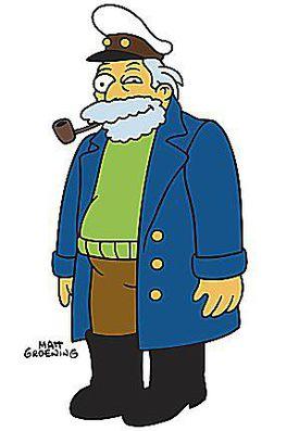 Captain McCallister - The Simpsons