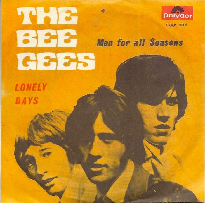 """Album art for the Bee Gees - """"Lonely Days"""""""