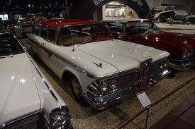 A Ford Edsel on display