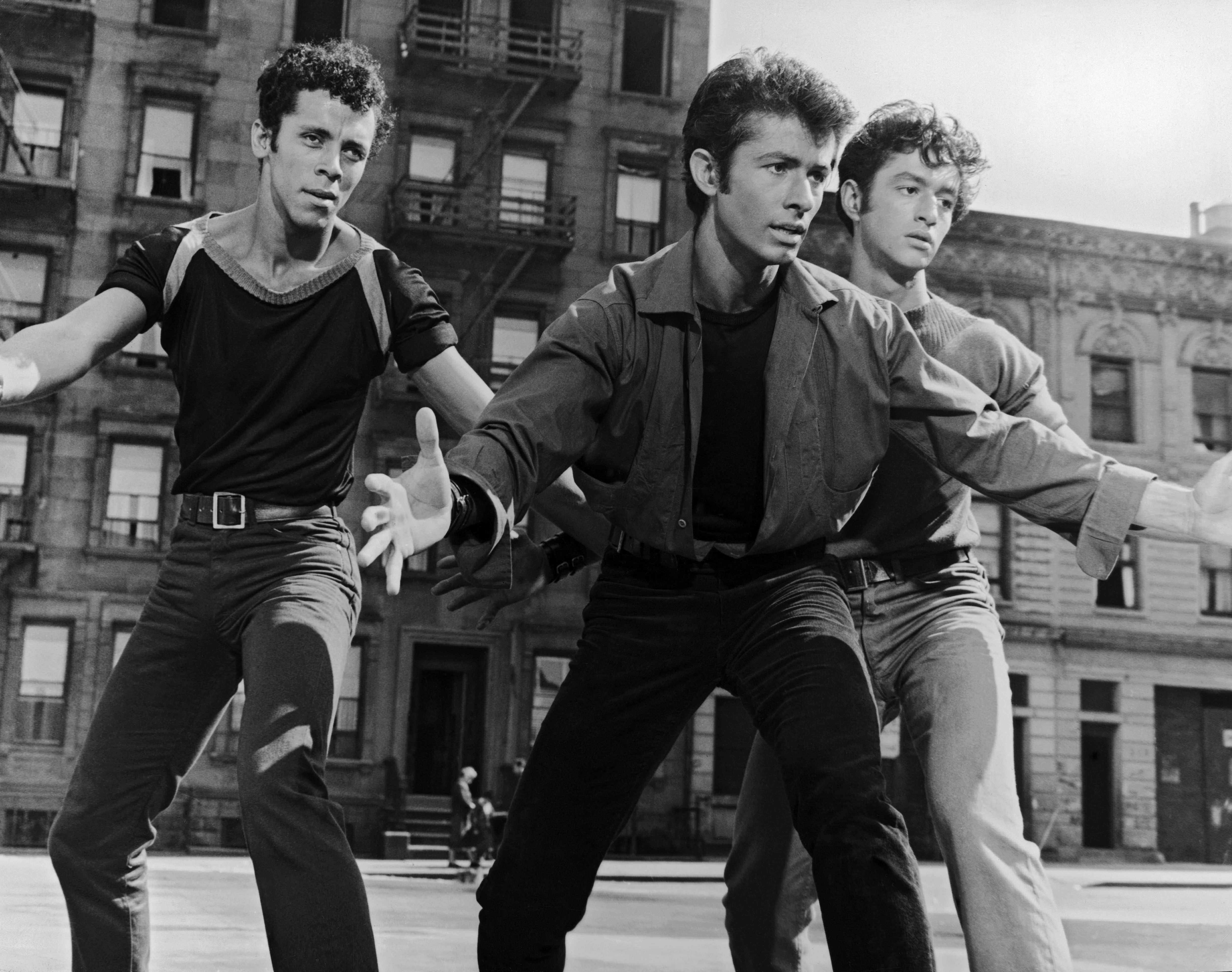 The 1961 film cast of West Side Story