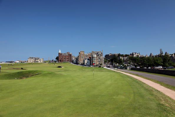 Old Course at St. Andrews Hole 17