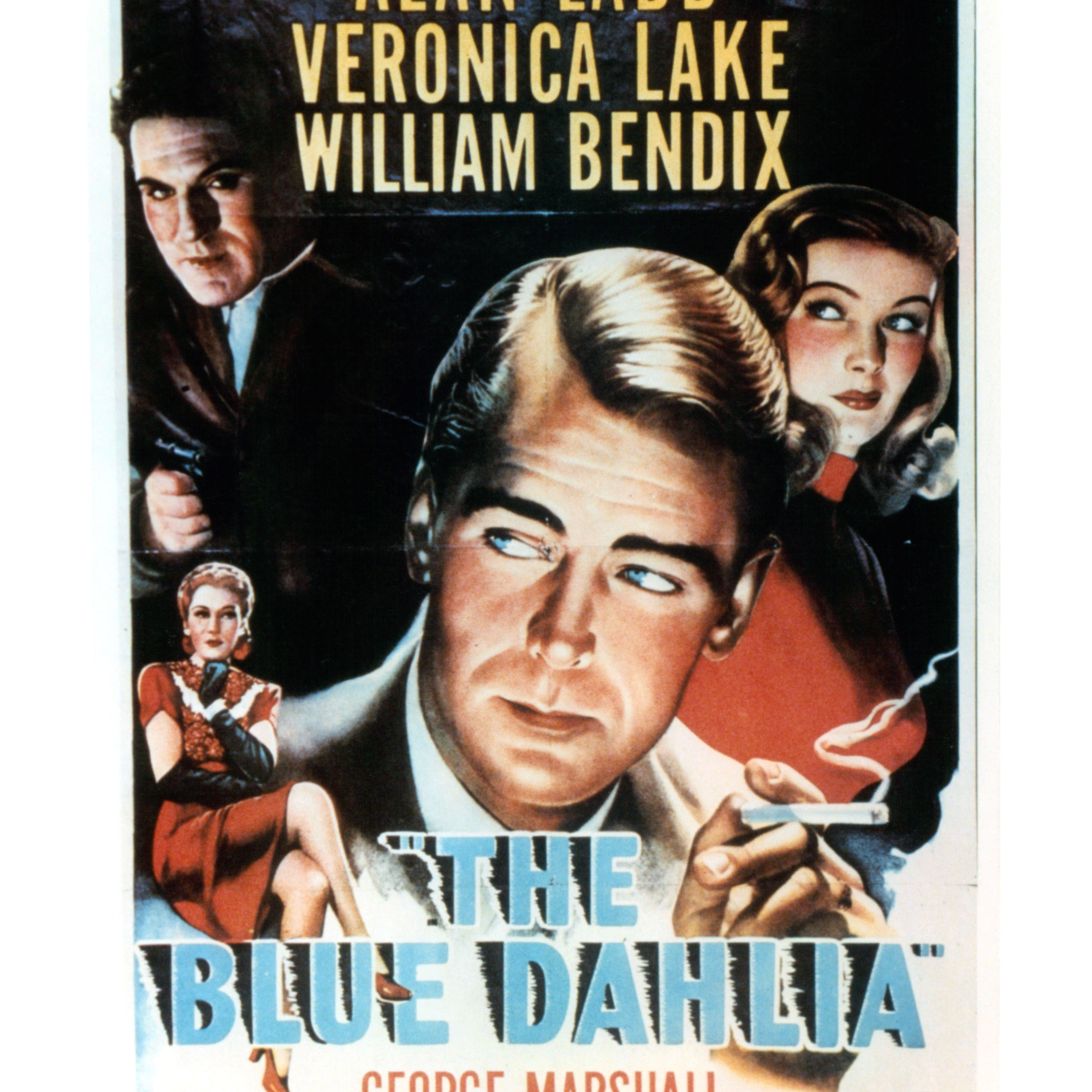 veronica lake and Alan Ladd In 'The Blue Dahlia'