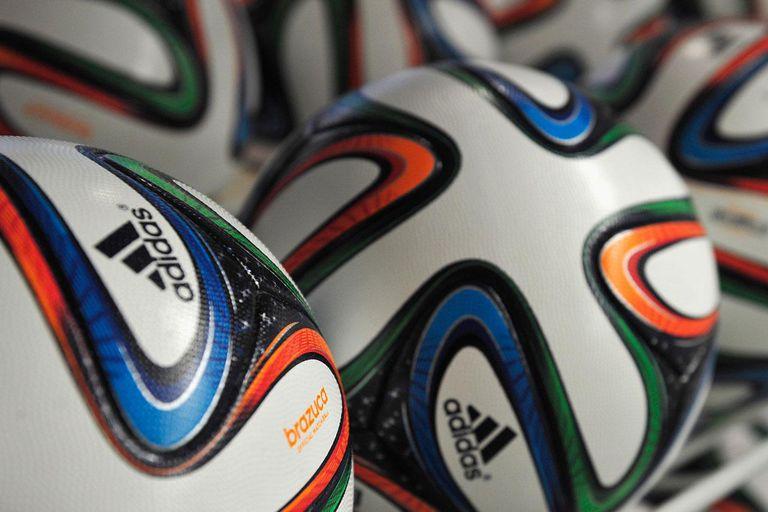 Adidas soccer balls.