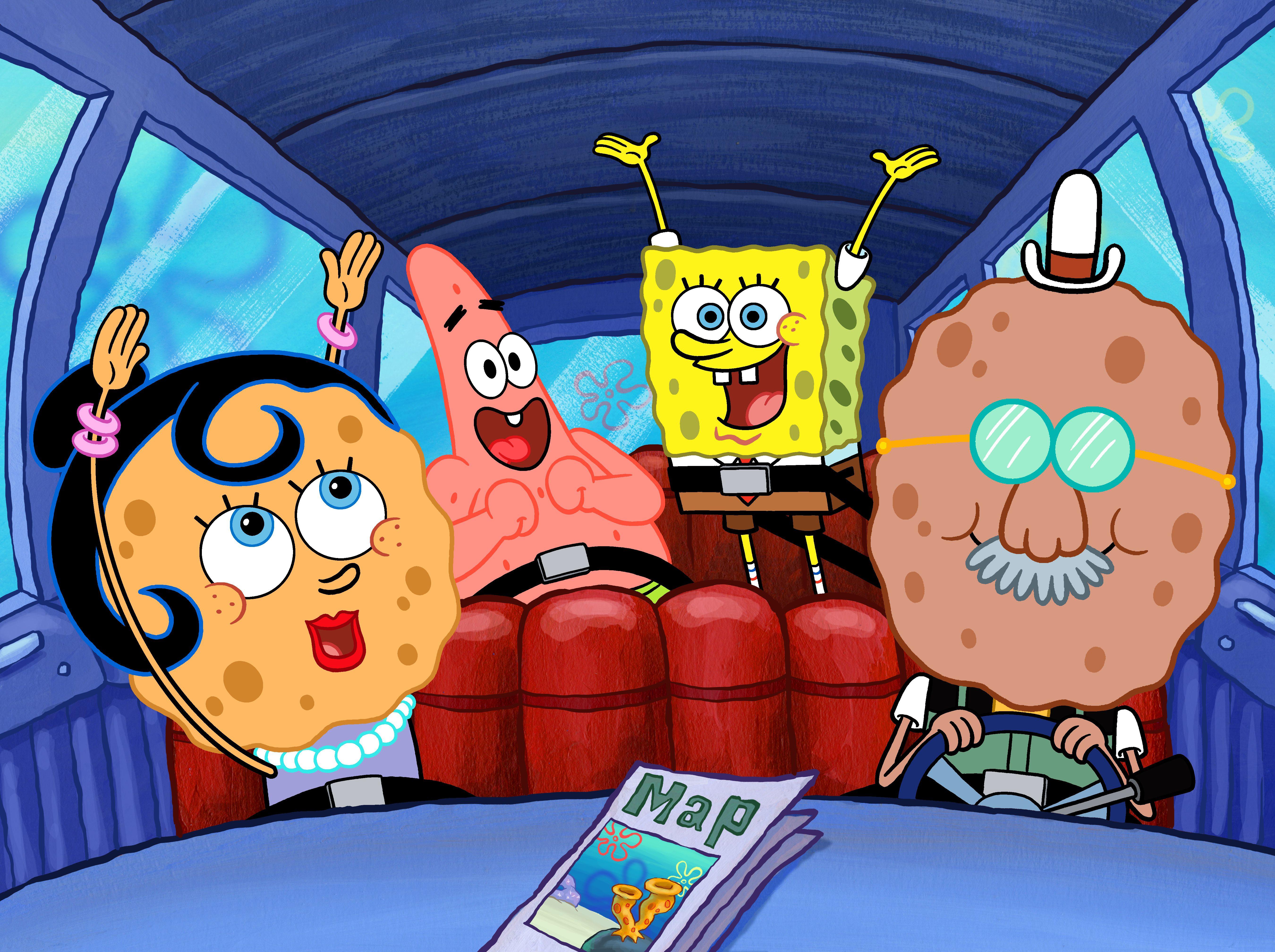 SpongeBob SquarePants - SpongeBob's Family Vacation