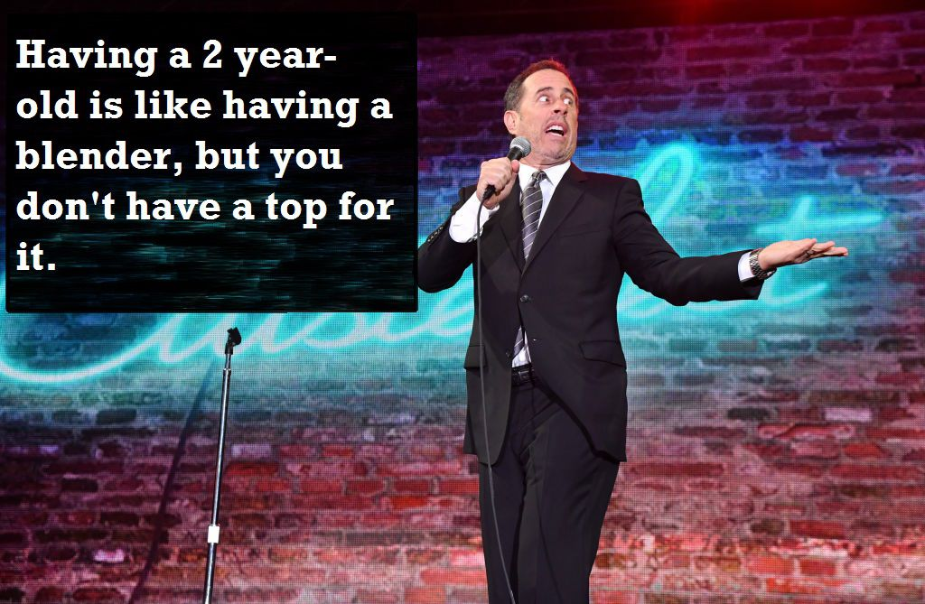 jerry seinfeld doing a stand up show