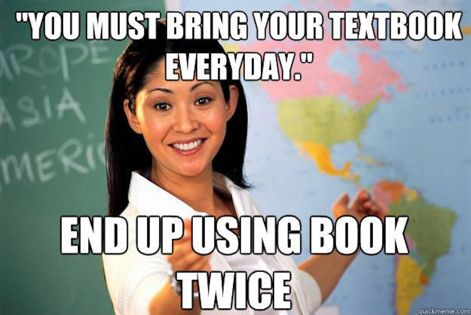 Teacher school Meme