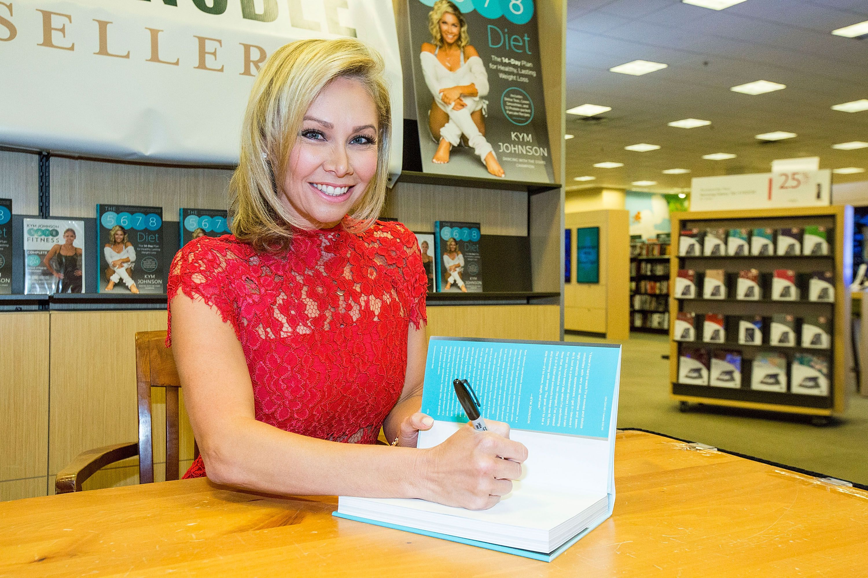 Kym Johnson Book Signing For 'The 5-6-7-8 Diet'