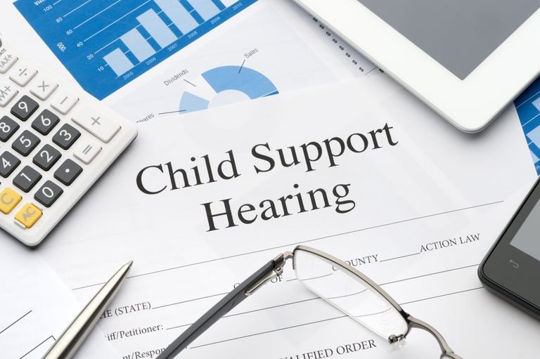 child support hearing paperwork