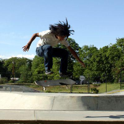 Skater Steven Reeves