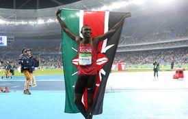 Olympics: Day 10, Men's 800m sprint winner David Rudisha