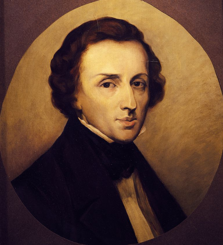 Portrait of Frederic Chopin (Zelazowa Wola, 1810-Paris, 1849), Polish pianist and composer