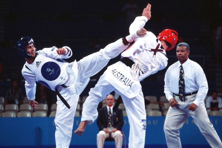 Tae Kwon Do at Tokyo Olympics 2000