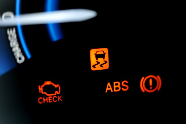ABS lights on car dash